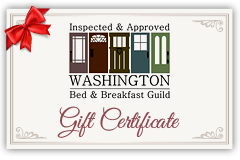 Washington Bed & Breakfast Guild Gift Certificate