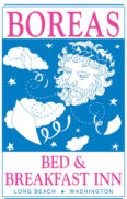 Boreas Bed and Breakfast Inn sign